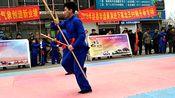 河北省石家庄赵县传统随手拳,虎虎生风的棍术堪比大片