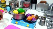 趣味食玩,迷你厨房用品制作过程大放送,仿真程度真不赖!