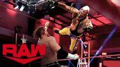 【RAW1404期】合约阶梯资格赛 神秘人雷尔老当益壮 战胜巴迪墨菲