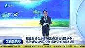 福建省报告新增7例新冠肺炎确诊病例 累计确诊病例279例累计治愈出院54例
