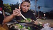 网友推荐纪实去吃雁荡镇的羊杂烩,老板执意要免单,是为什么捏?