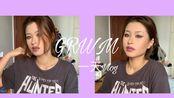 【小泥Vanessa】GRWM/一天vlog/小泥独自度过的一个周末/紫色眼线妆容