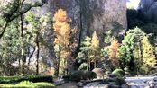 退休女人的生活温州雁荡山灵岩风景区玻璃栈道拍一拍