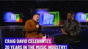 2019.11.16 Free Radio Hits Live完整版采访视频:Craig David庆祝进军音乐行业20周年