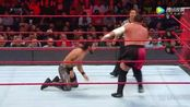 WWE美式摔跤娱乐 RAW 6.5 罗林斯受到怀特入场音乐干扰 再被毁灭锁锁昏