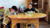 江西省九江市修水县水源乡特产美食农村人吃饭视频