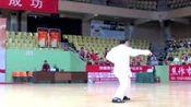 2016年陈小旺在焦作全国太极拳精英赛开幕式上表演.