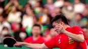 挺进4强!世界杯中国男乒3-0美国 许昕梁靖崑打出11-0
