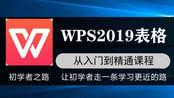 1-4 WPS2019表格课程之工作表的基本操作