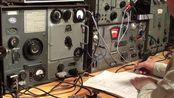 【德国二战高科技】电台狂魔正在使用二战德军的传家宝Fu-a2通讯电台测试通联效果