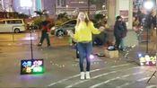 女歌手安娜翻唱《午夜香吻+西海情歌+公虾米》太好听了