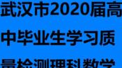 武汉市2020届高中毕业生学习质量检测理科数学 逐题讲解16立体几何