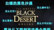 白嫖的黑沙玩不了?黑色沙漠注册、登录及汉化等教学,从下载到游玩一次搞定!