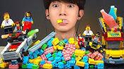 【jaeyeol】(SUB)助眠 LEGO糖果脆脆的进餐声音(2020年3月11日20时34分)