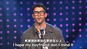 小乔Nick Jonas翻唱水果姐成名曲I Kissed A Girl