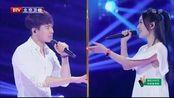 跨界歌王:谢娜PK高云翔,《一想到你呀》,好欢乐呀