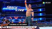 WWE美式摔跤娱乐 SD 8.15 塞纳成功压制印度大肌霸 独狼趁机兑换合约包