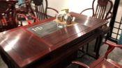 美斯顿古典红木家具 红木茶台