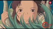 宫崎骏动漫《千与千寻》千寻与白龙最感人的一段
