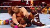 科菲·金斯顿vs丹尼尔·布莱恩摔角狂潮!