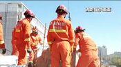 [东方时空]吉林白城 楼房坍塌 施工工人被困