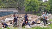 圆明园被毁150年后,专家对其进行修复时,意外发现了5万多件文物