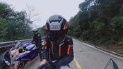 宝马hp4 1000rr升级版,川崎zr-10r,铃木gsx1000r,铃木750,黄龙(肥龙)下山记录。