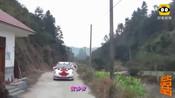 实拍:江西赣州兴国农村的婚礼车队,配上当地的美景太适合了h