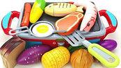 亲子早教益智玩具 趣味学习食品、水果和蔬菜名称