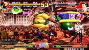 拳皇97:沈阳夜枫第一玛丽丝血反杀 玛丽真的不愧为翻盘女王呀