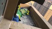不动就不会被发现?3个熊孩子逃学,藏17楼阳台外一动不动.....