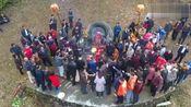 广东梅州祭祖,山坡上祖坟一个比一个大,太占土地了吧