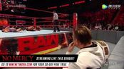 WWE美式摔跤娱乐 RAW 9.18 杰森-乔丹冲出六重威胁 遭米兹军团围攻