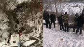 吉林通化载39人客车坠落江边已致4人死亡多人受伤目前正紧张救援