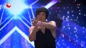 中国达人秀 水晶球空灵般的表演 太神奇了