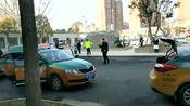 周口市区出租车消毒恢复营运