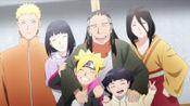 博人传:日向一族拍大合照,充满欢笑的全家福中,唯独他不对劲