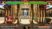 拳皇98:面对拉尔夫的宇宙幻影,用一根手指操作椎拳宗就能无伤躲过