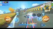 QQ飞车手游: 试跑新图飞跃神州,你可以跑多快?