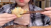 七个柚子(10.11)——冷面/锅包肉/韭菜盒子/吉姆大师傅蛋糕咸蛋黄+芝士