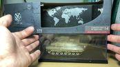 模玩评测 果子狸-.- 豹2坦克 unistar 合金模型 德军 战车 坦克模型 1:72 三荣 豹2A5