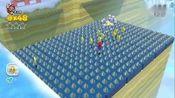 p14超级马里奥3D世界100%通关攻略w6-A w6-B w6-4 w6-5 w6-6(全绿星和贴纸)