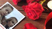 【AE模板0007】祝福朋友生日快乐的温馨玫瑰花图片展示