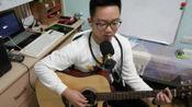 吉他弹唱《贝加尔湖畔》,李健不愧为音乐诗人,声音清澈、空灵