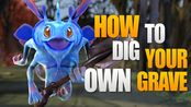 Dota 2 How to dig your own grave