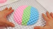 一起来玩三色彩虹网格泥史莱姆,压下去的瞬间解压极了