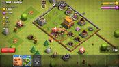 部落冲突:部落给小夕捐的三只野猪骑士好厉害啊,还有五个人观战