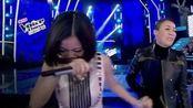 中国好声音最不该淘汰的学员,得知结果后泪洒舞台,观众心碎了