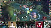 爱玩LOL时刻:打野beishang抢到小龙 WE完美团战打出0换3
