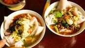 普洱人最爱吃米干,自己在家做早点-酱肉蛋汤米干,健康又省钱